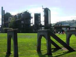 Gas Works Park Parkour