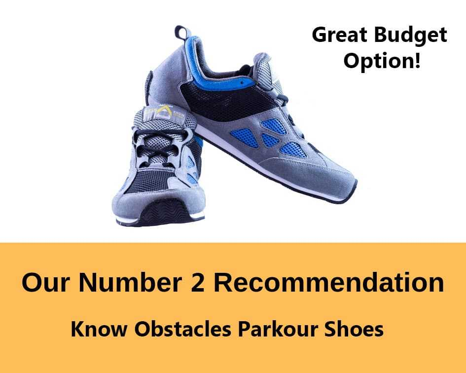know obstacles freerunning shoe